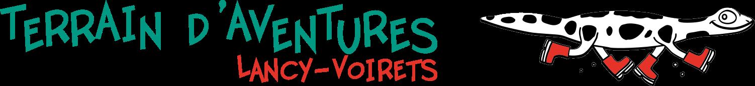 Logo · Terrain d'aventures Lancy-Voirets · TALV
